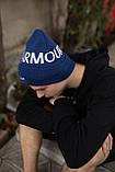 Шапка Under Armour/ Шапка Андер Армор/Шапка женская/шапка мужская/шапка синяя, фото 2