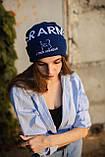 Шапка Under Armour/ Шапка Андер Армор/Шапка женская/шапка мужская/шапка синяя, фото 5