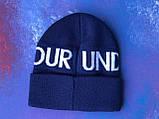 Шапка Under Armour/ Шапка Андер Армор/Шапка женская/шапка мужская/шапка синяя, фото 6