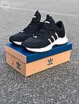 Мужские кроссовки Adidas Black/White (черно-белые) 549TP, фото 5