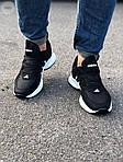 Мужские кроссовки Adidas Black/White (черно-белые) 549TP, фото 3