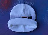 Шапка FILA/Шапка філа/шапка жіноча/шапка чоловіча/шапка біла, фото 5