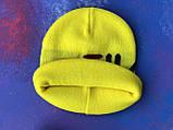 Шапка FILA/Шапка філа/шапка жіноча/шапка чоловіча/шапка жовта, фото 5