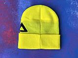 Шапка FILA/Шапка філа/шапка жіноча/шапка чоловіча/шапка жовта, фото 6