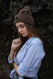 Шапка FILA/Шапка філа/шапка жіноча/шапка чоловіча/шапка хакі, фото 3
