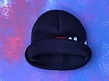 Шапка FILA/Шапка фила/шапка женская/шапка мужская/шапка темно-синяя, фото 7