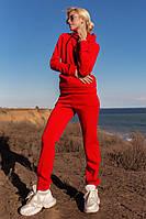 Женский спортивный костюм на флисе осень-зима