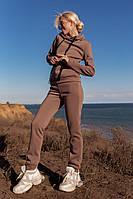 Женский спортивный костюм теплый,флисовый
