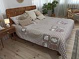Одеяло-Покрывало полиэстер П-817 Leleka-Textile 140х205 цветной лето, фото 4