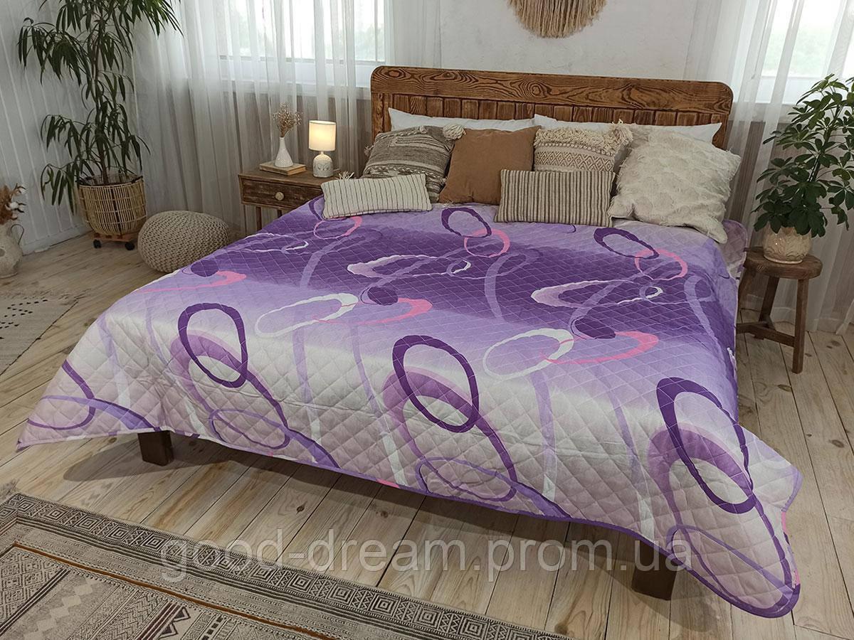 Одеяло-Покрывало полиэстер П-827 Leleka-Textile 140х205 цветной Лето
