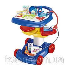 Детский игровой набор Доктора с медицинскими инструментами (17 предметов)  W083