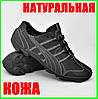 Шкіряні Мокасини Чоловічі Кросівки Чорні Туфлі (розміри: 40,41,42,44), фото 5