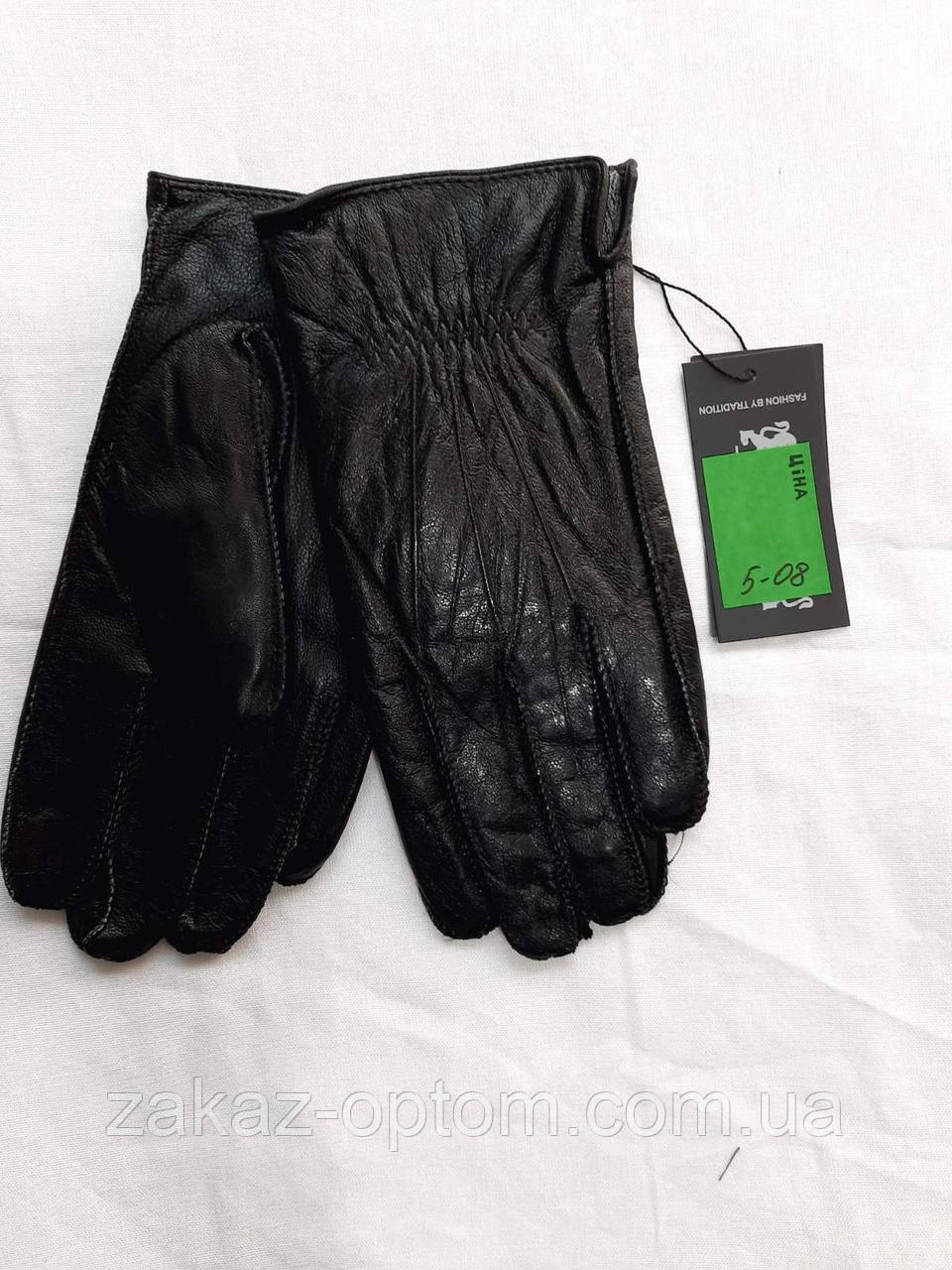 Мужские перчатки оптом кожа внутри плюшевая махра(10,5-12,5)Румыния 5-08-63217