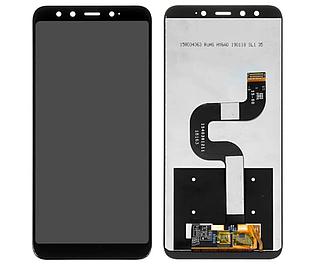 Модуль для Xiaomi Mi 6X, Mi A2, черный, Дисплей с сенсорным экраном, Original