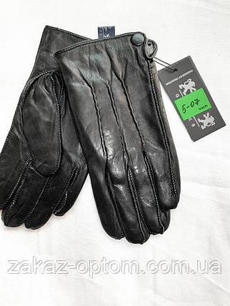 Мужские перчатки оптом кожа внутри плюшевая махра(10,5-12,5)Румыния 5-07-63219, фото 2