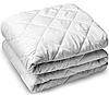Теплое одеяло овечье полуторное 150*210 бязь_шерсть_стеганое куб. (2893)