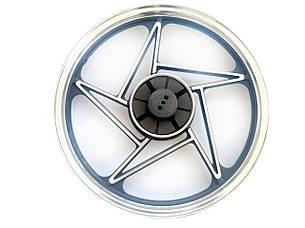 Диск колеса задний 18'-1.85 WY125/150 литой 'L', фото 2