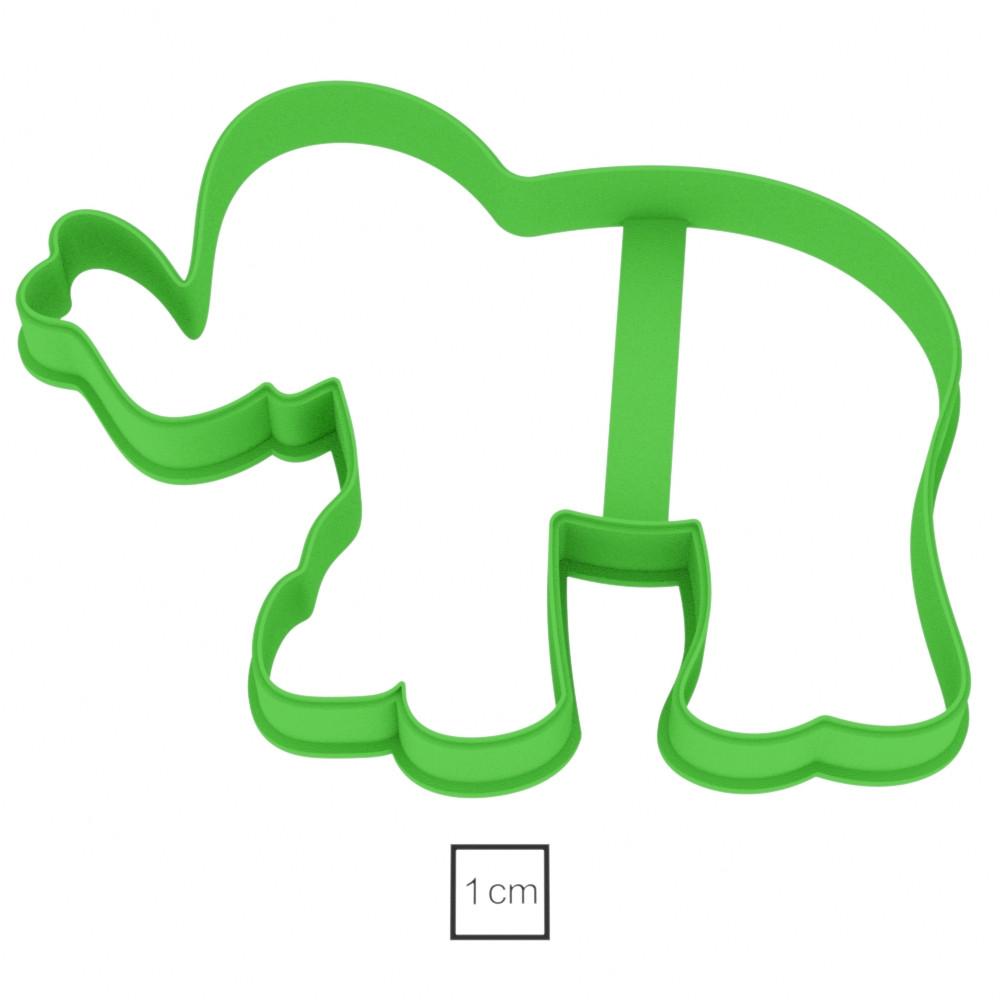 Висічка для пряників у вигляді слона