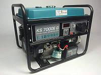 Бензиновий генератор Konner&Sohnen KS 7000E G 5.5 кВт однофазний Німеччина, фото 1