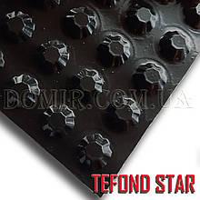 Tefond star (Тефонд стар) шиповидная гидроизоляционная мембрана.