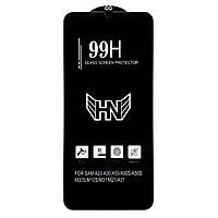 Защитное стекло 99H для Samsung Galaxy A30s / черное 99Н на самсунг гелекси А 30 s с (SM-A307FZKV)