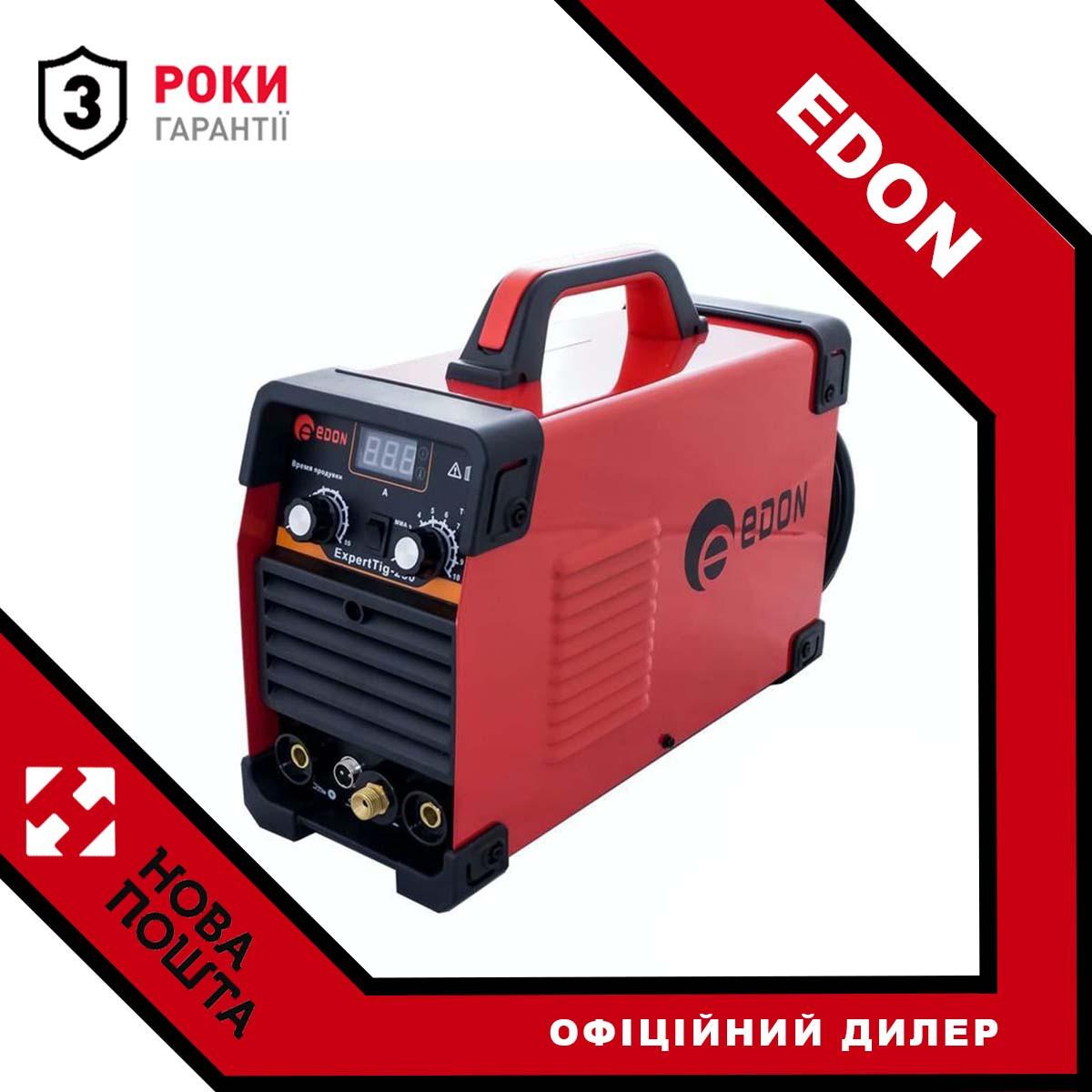 Зварювальний інвертор EDON EXPERT TIG-250