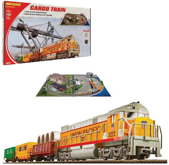 Залізниця Mehano Cargo Train з ландшафтом T113