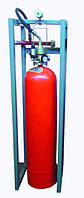 Модуль газового пожаротушения МГП-1-80 коллектор DN50 с СИМ