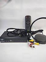 Тюнер Т2, Т2 Телевидение, Т2 Приставка, Т2 Ресивер + антенна es-008 (комплект)