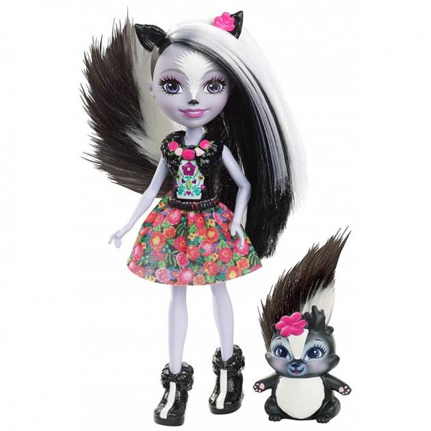 Enchantimals - лялька енчантімалс з скунсом (Лялька Енчантімалс Скунс Сейдж Скунсік Sage Skunk FXM72)