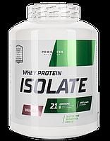 Протеин Progress Nutrition WHEY protein isolate 1800g КЛУБНИКА