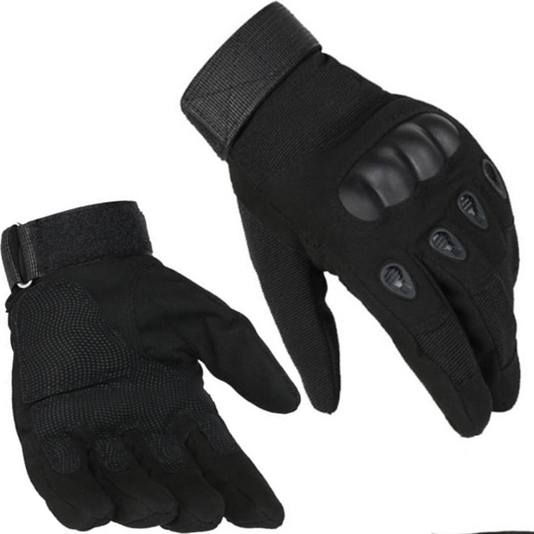 Тактические закрытые перчатки Oakley.