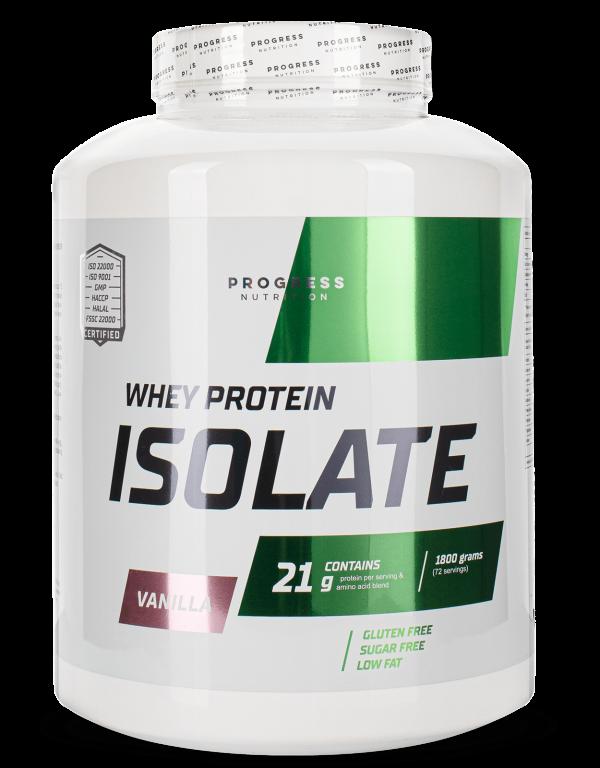 Протеїн Progress Nutrition WHEY protein isolate 1800g ВАНІЛЬ