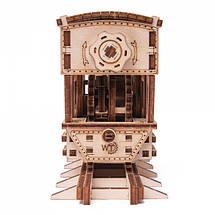 Паровозик Чаг-Чаг Wood Trick (198 деталей) - механический деревянный 3D пазл конструктор, фото 2