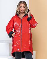 Женская Куртка двусторонняя, ткань Мonkler глянец