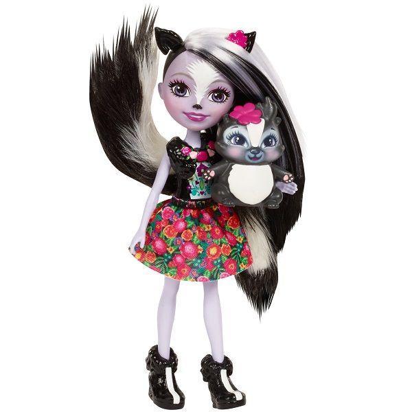 Кукла Enchantimals Скунсик Сейдж