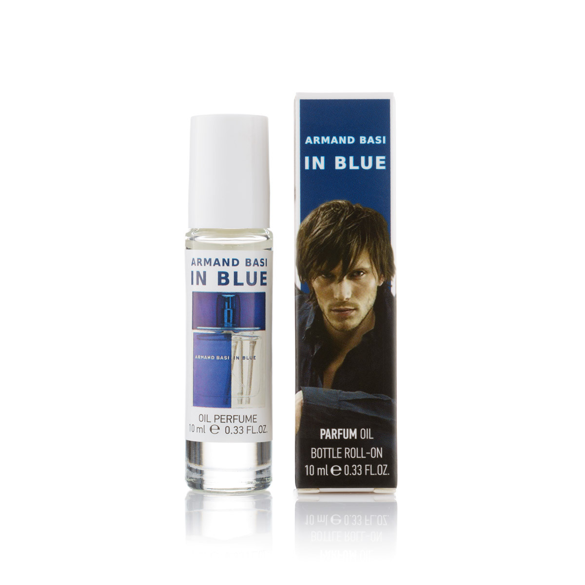 10 мл масляный парфюм Armand Basi In Blue - (М) (шариковый)
