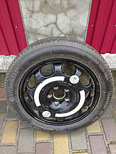 Запасне Колесо, запаска, докатка Continental Mercedes W211, 155/70 R17, 4Jx17H2, ET34, A2114012502