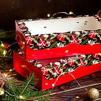Новогодняя коробка Подарок, фото 1