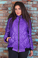Куртка зимняя женская норма Размеры - 42-44 42-46 Цвета: чёрная, электрик, фиолет, синий, хаки Ткань - пла