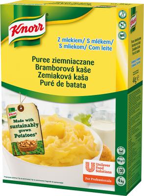 Концентрат пищевой пюре картофельное с молоком сухая смесь Knorr 4 кг