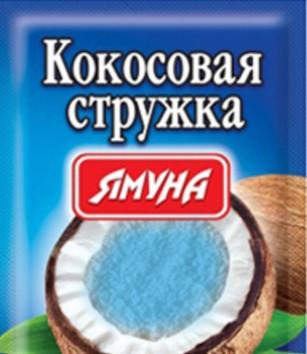 Кокосовая стружка ( синяя) 25 грамм ТМ Ямуна