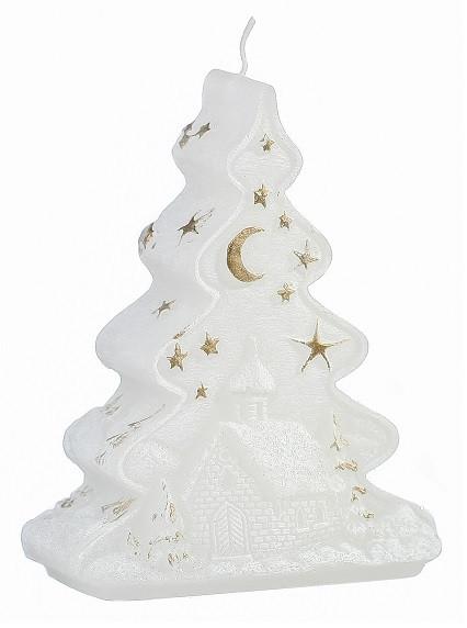 Свеча новогодняя елка 12.5 см