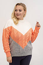 Стильний жіночий светр Заріна 3 кольори (44-52)