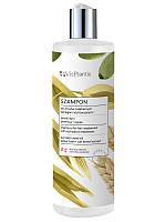 Шампунь для ослабленного волосся з олією гарбуза, пшениці та вівса 400 мл Vis Plantis