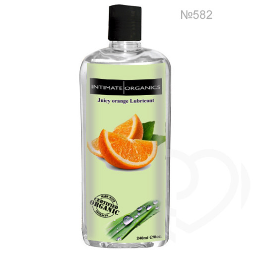 Смазка лубрикант на водной основе со вкусом апельсина 240ml