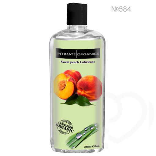 Смазка лубрикант на водной основе со вкусом персика 240ml