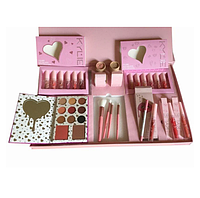 Набор косметики Kylie Jenner Big Box розовый, большой подарочный набор для макияжа, фото 1