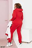 Женский осенний утепленный спортивный костюм тройка р. 48-50, 52-54, фото 2