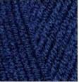 Турецкая пряжа Alize Lanagold Plus для ручного вязания полушерсть чернильный №590